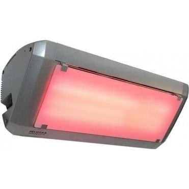 Heliosa Series 9 2kW infrared patio heater + Light Reduction Diffuser