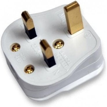 3 Pin UK Mains Plug - pack of 3