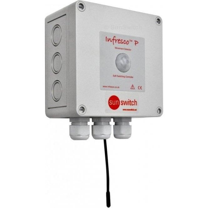 United Automation Infresco P 6kW PIR/soft-start/temp-sensor