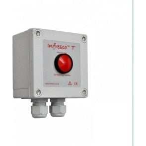 Infresco T 4kW push-button timer & soft-start