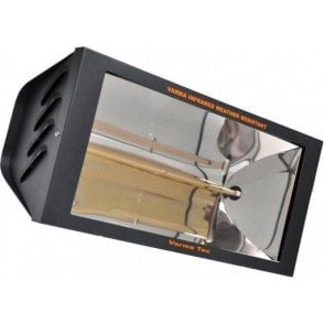 WR2000/20 - 2kW radiant infrared heater with glass front